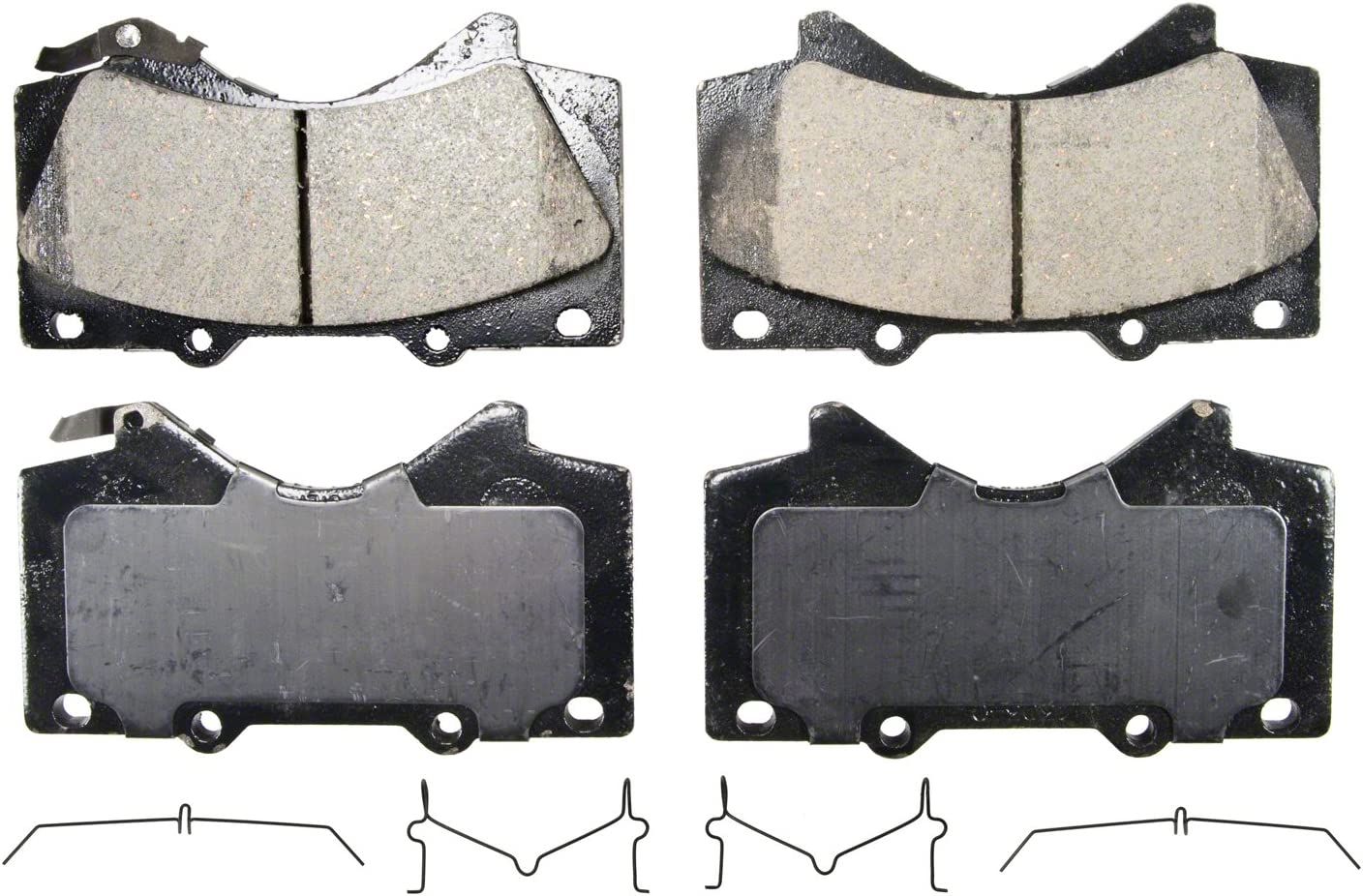 Hardware Kits Not Included DNA 2008 fits Honda Odyssey EX Rear Ceramic Brake Pads with Two Years Manufacturer Warranty