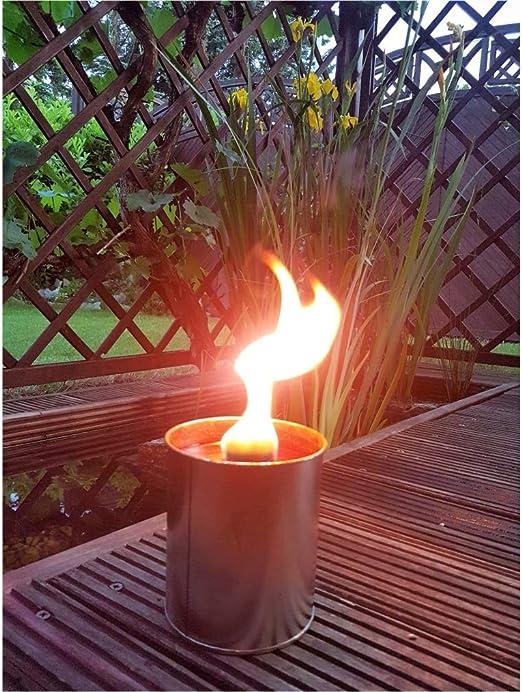 Krause & Sohn Fiesta Fuego – Antorcha de jardín 5 Horas Tiempo de Combustión como Llama Cuenco también para encender de antorchas.: Amazon.es: Jardín