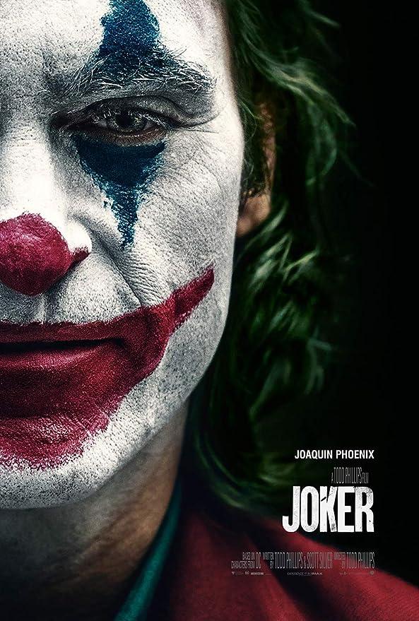 Batman Joaquin Phoenix 2019 DC Movie Canvas Silk Poster Print 24X36 inch Joker