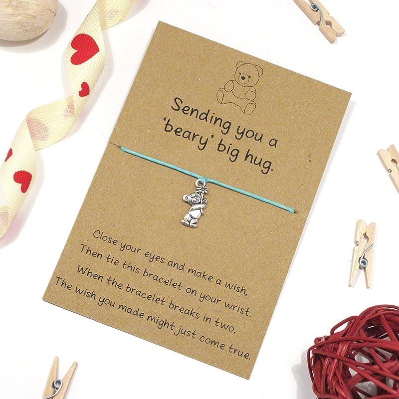 Easter Basket Gift Friendship Friend Jewelry Gift for Friend Happy Easter Wish Bracelet Best Friend Bracelet