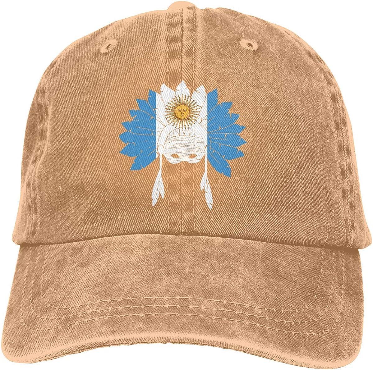 Gorra de béisbol de Mezclilla teñida con Hilo Ajustable para ...
