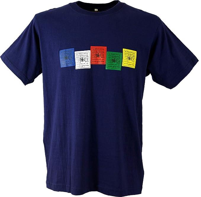 GURU SHOP, Maglietta Arte Buddista Tibet, Cotone, Magliette