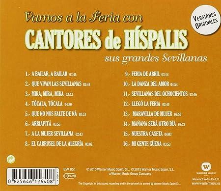 Vamos A La Feria Con Cantores De Híspalis: Cantores De Híspalis: Amazon.es: Música