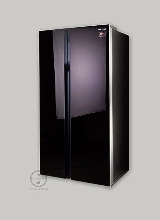 Samsung Rs552nrua9m Side By Side 538l A Design Glasfront Aubergine