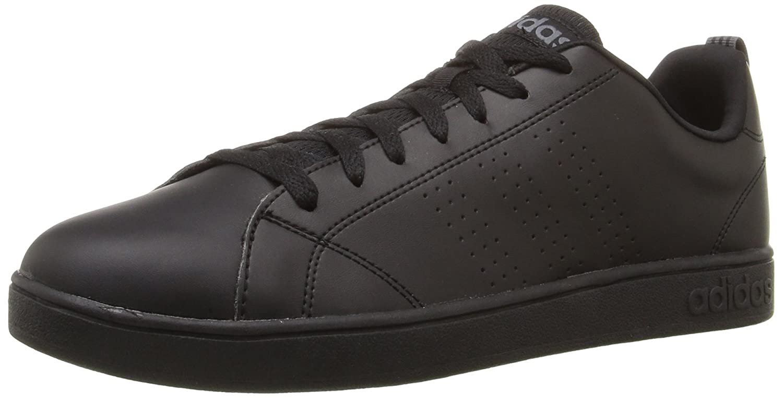 El precio más bajo Adidas NEO Hombre Advantage Clean VS Lifestyle Tennis Zapatos Negro/Negro/Lead en venta