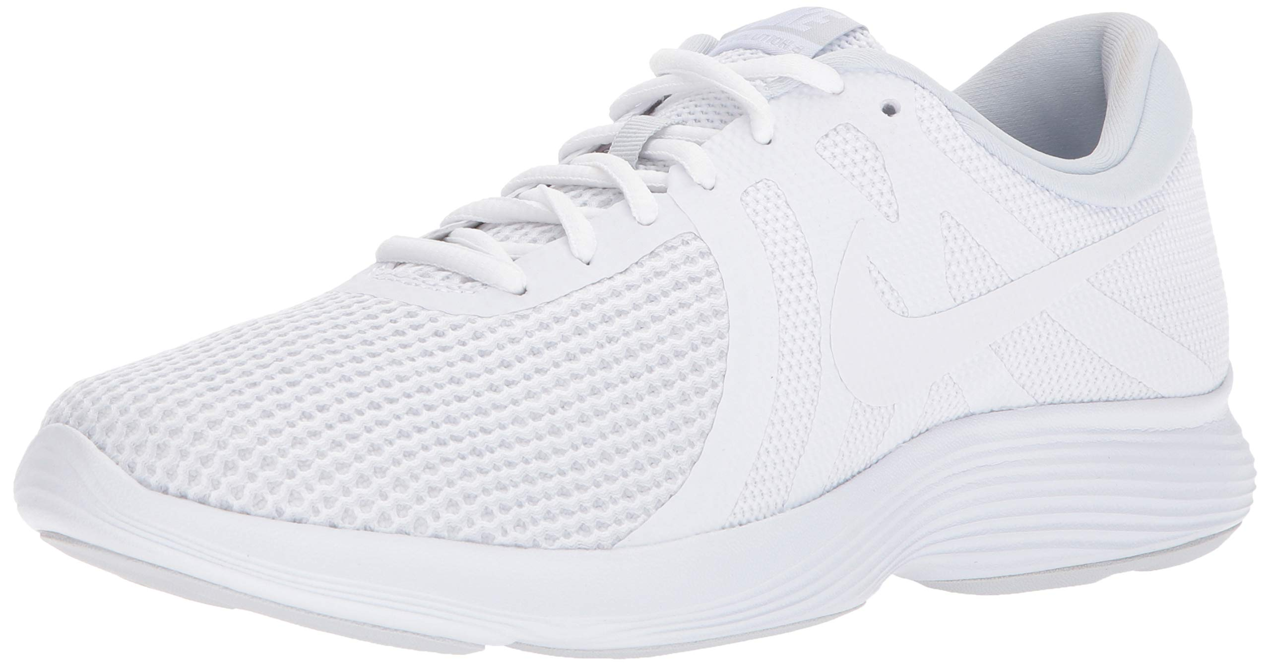 Nike Men's Revolution 4 Running Shoe, White/White - Pure Platinum, 15 4E US by Nike