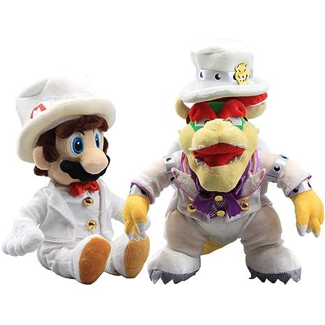 Super Mario Odyssey Bowser Wedding Suit Plush Doll Koopa