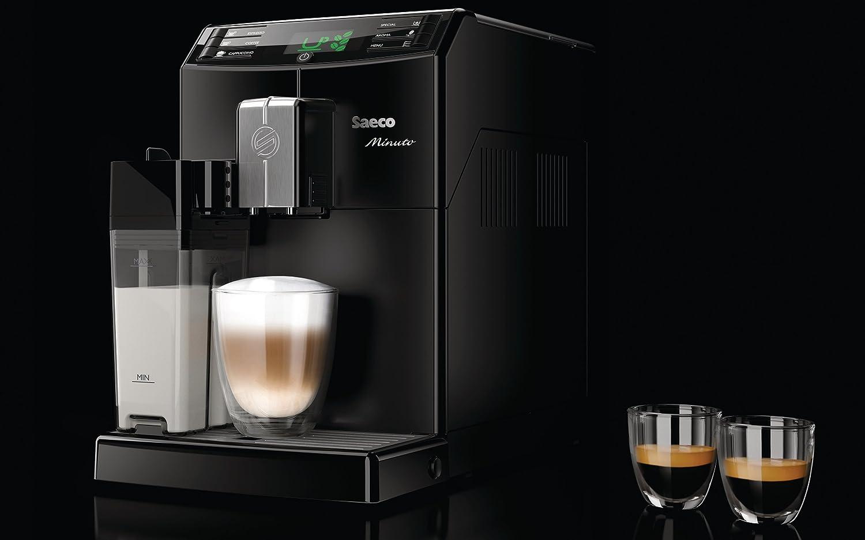 Saeco Minuto HD8763/18 - Cafetera (Independiente, Máquina espresso ...