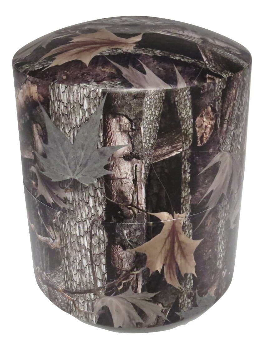 Camouflage Cremation Capsule 11 Inch Camoflage Urn / Vault