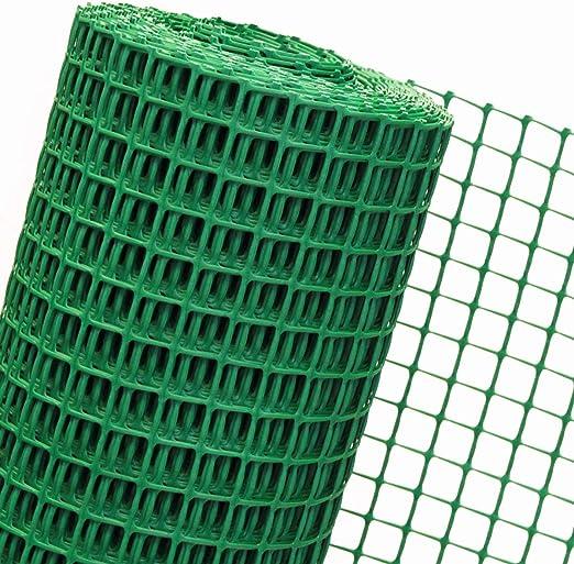 1, 2 m² Malla en 1, 2 m Br. x 1 m valle de plástico para jardín malla de 30 mm verde por metros B3/120.: Amazon.es: Jardín