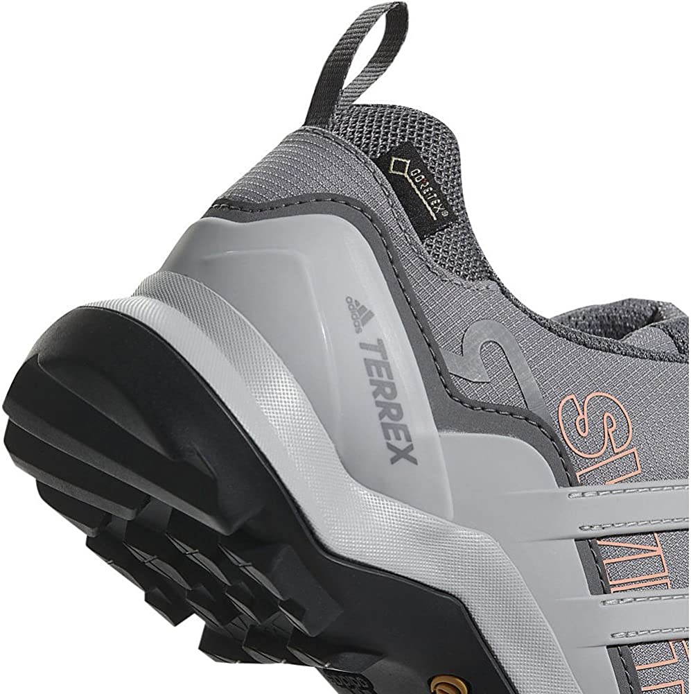 adidas outdoor Terrex Swift R2 Mid GTX Womens Hiking Boot Black/Black/Ash Green