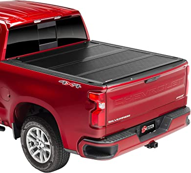 Amazon Com Bak Bakflip F1 Hard Folding Truck Bed Tonneau Cover 772121 Fits 2014 2018 19 Ltd Legacy Gm Silverado Sierra Limited Legacy 2014 1500 15 19 All 6 7 Bed 78 9 Automotive