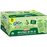 GoGo Squeeze Organic - 20 pouches (Apple Apple)
