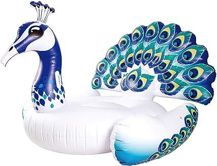 Amazon.com: Flotadores de pavo real para niños y adultos ...