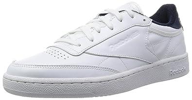 newest eee9f 4700d Reebok Club C 85 El, Sneakers Homme - différents Coloris - Blanc Bleu (