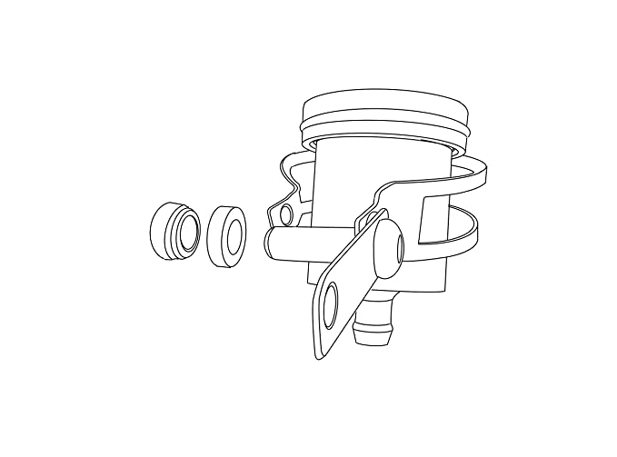 Amazon Com Universal Motorcycle Brake Clutch Reservoir Cup