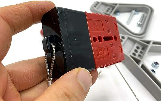 Batterie Stecker 175a 16 Mm2 Rot Vollset Steckverbinder Für Gabelstapler Kabel Beleuchtung