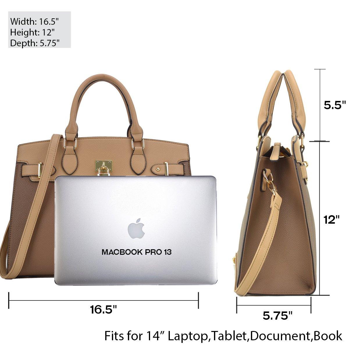 MMK collection Fashion Women Purses and Handbags Ladies Designer Satchel Handbag Tote Bag Shoulder Bags with coin purse (Z-6876-PK)