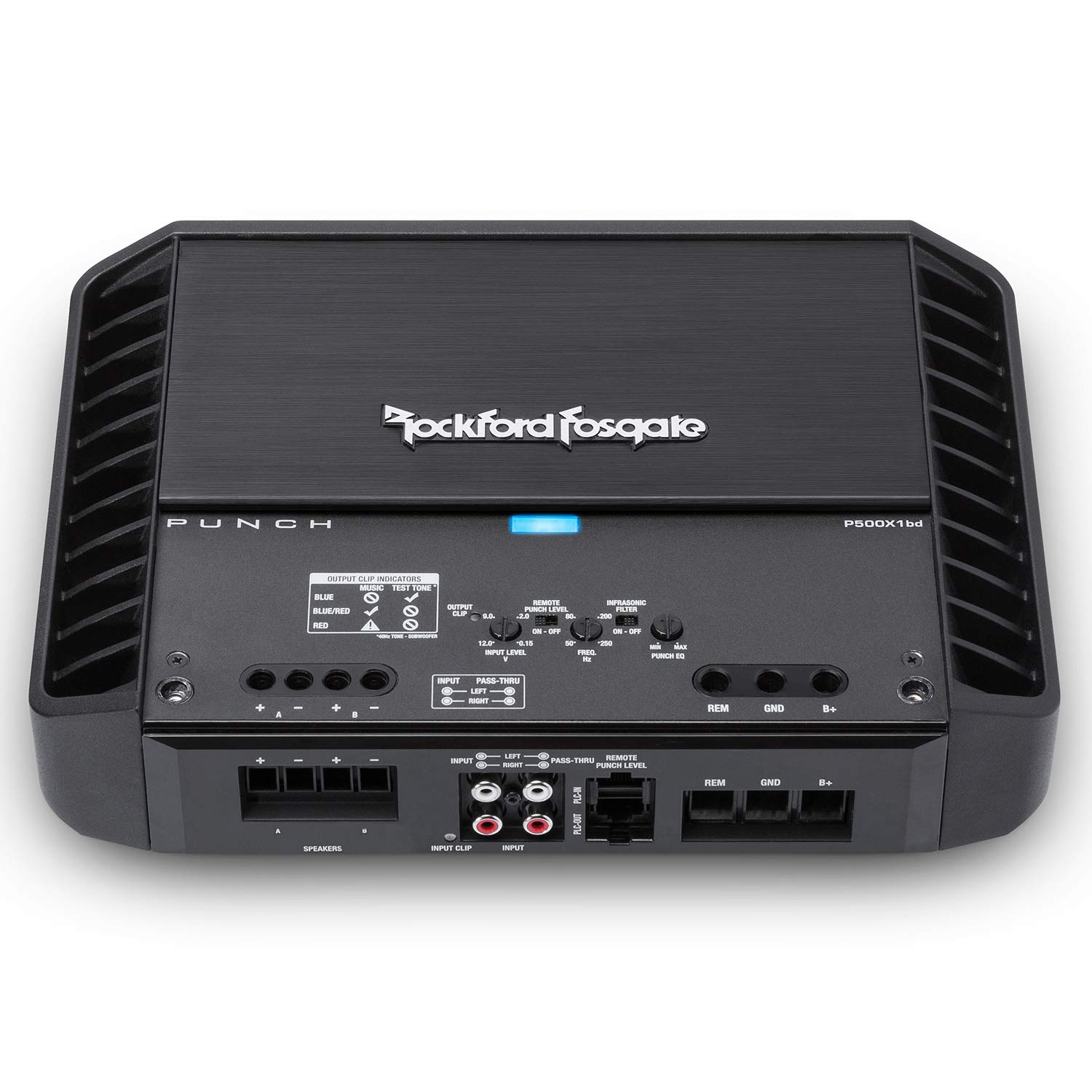 Rockford Fosgate P500X1BD Punch 500 Watt Class-bd Mono Amplifier