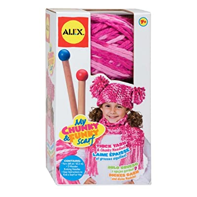 ALEX Toys Craft My Chunky and Funky Scarf: Toys & Games