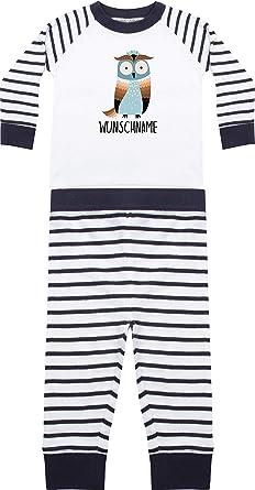 Pijama infantil de dos piezas de manga larga con diseño de ...