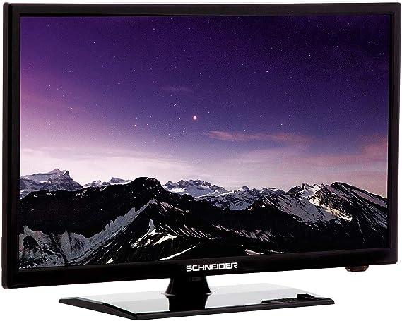 Schneider TV 22 LED HD USB DVR 12V HDMI Negra: Schneider: Amazon ...
