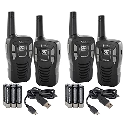 Amazon Com New 4 Cobra Cxt145 Microtalk 16 Mile 22 Channel