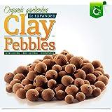 Organic Expanded Clay Pebbles Grow Media - Orchids • Hydroponics • Aquaponics • Aquaculture Cz Garden (2 LBS Cz Garden Expand