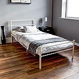 Vida Designs Dorset UK Einzelbett, ca. 90 x 190 cm, Weiß