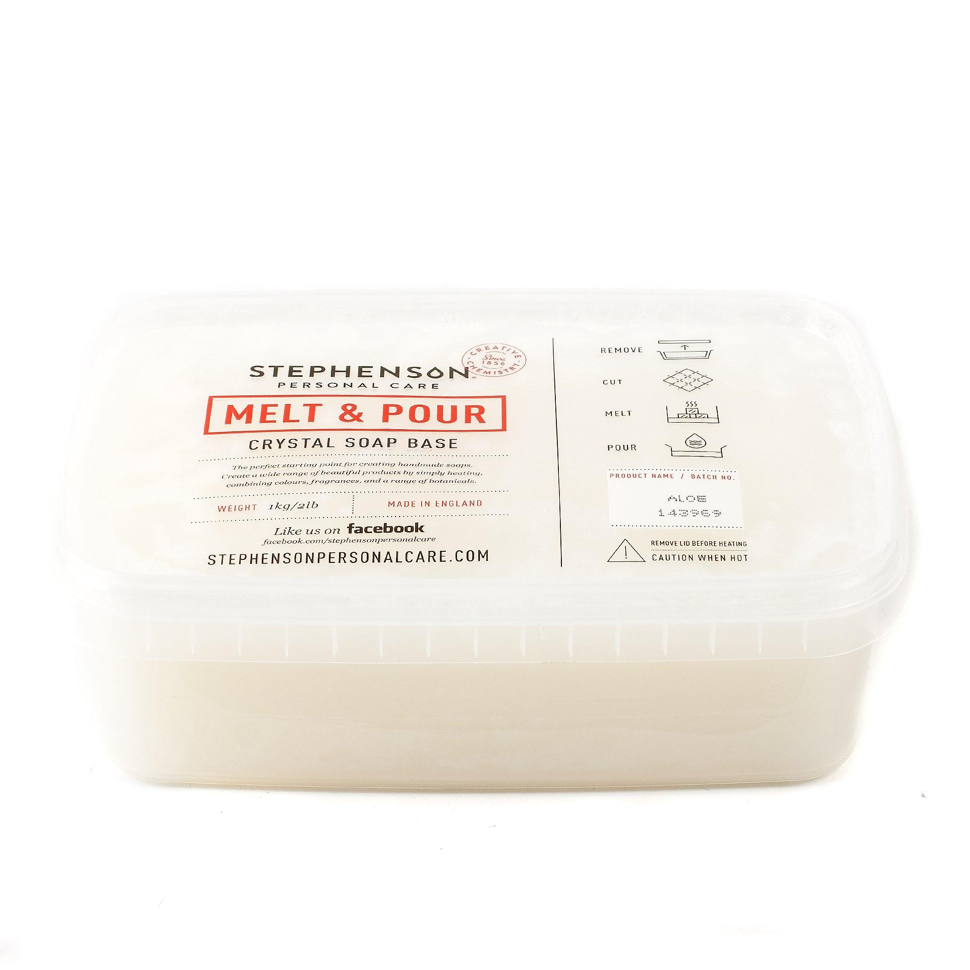 Melt and Pour Soap Base - Aloe Vera - 5Kg