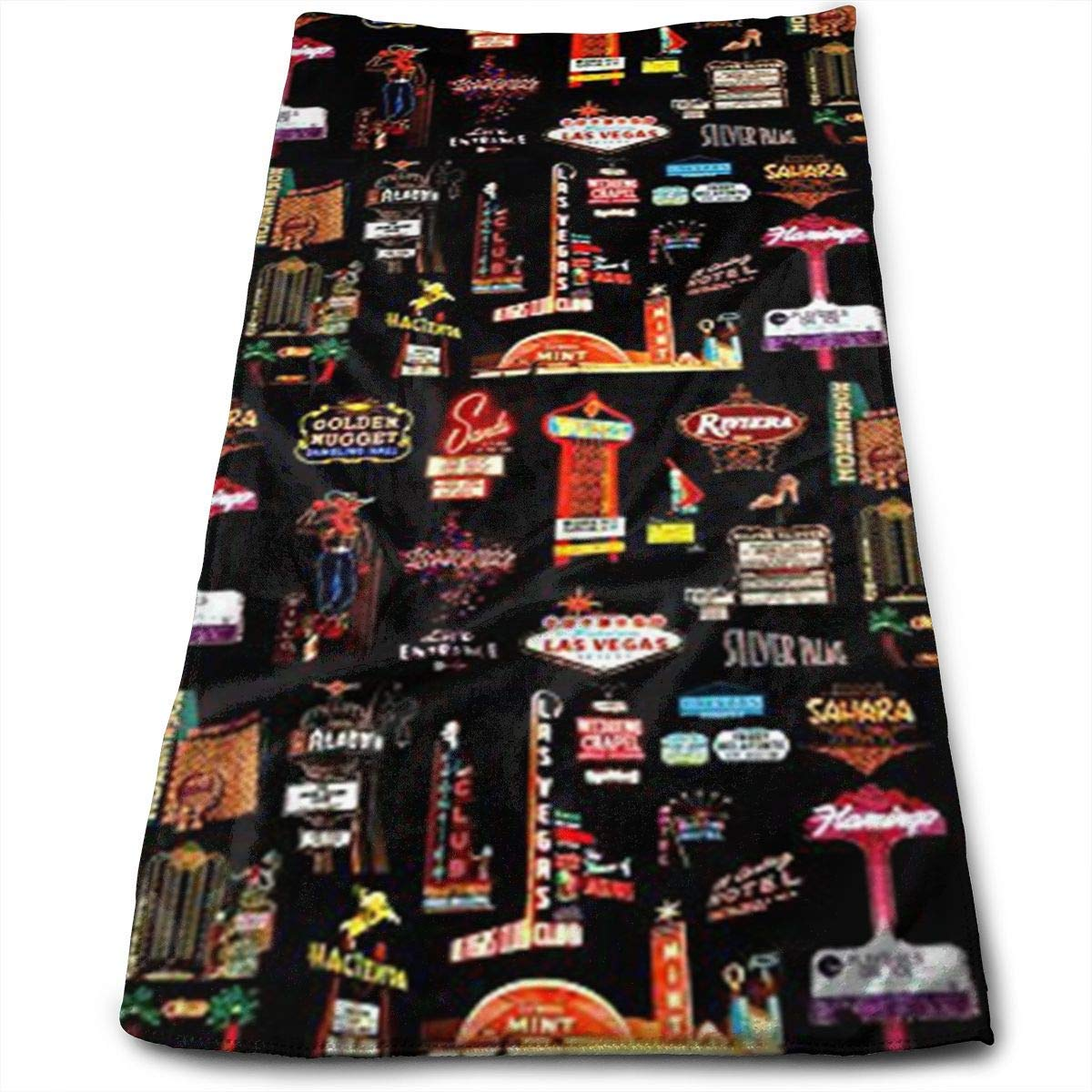 Sports Travels 11.8X27.5 Towels Best for Outdoor /& Camping ewtretr Prime Torchons De Cuisine Quick Drying and Super Absorbent Technology Las Vegas Microfiber Beach Towel Large /& Oversized