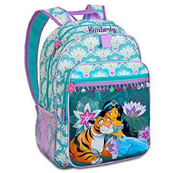 Amazon.com: Disney Store Princess Jasmine Backpack Book Bag ...