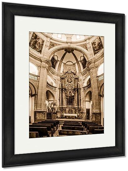 Amazon.com: Ashley Framed Prints Sant Antoni De Viana Church ...