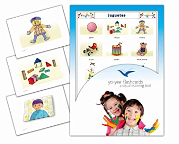 Flashcards Yee Yo Tarjetas Español En Ilustraciones Juguetes Con uPwkiXTOZ