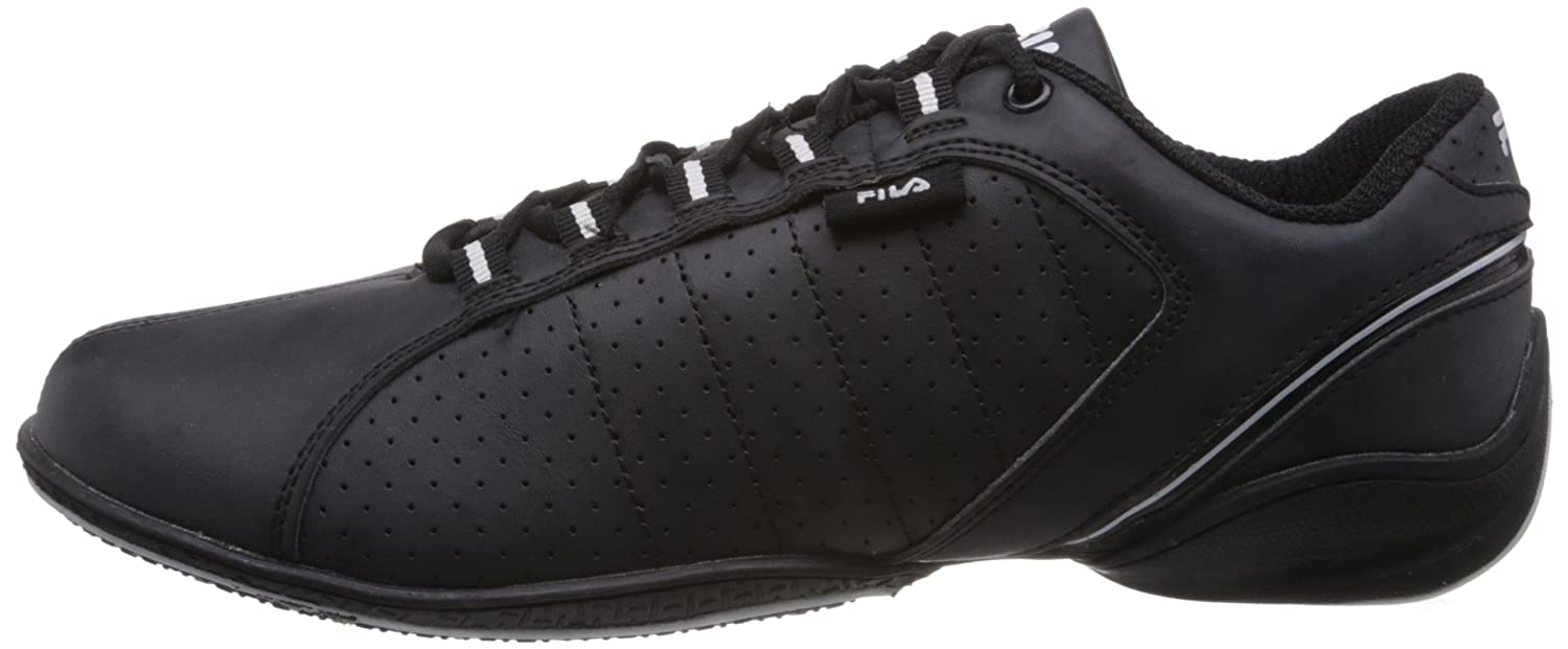 e5eec9331bd Fila Men Mercury Black and White Sneakers -6 UK India (40 EU)  Buy Online  at Low Prices in India - Amazon.in
