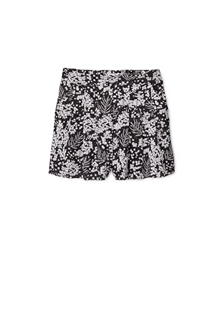 MANGO Pantalones Cortos con Estampado Floral Talla M Mujer Ropa (M EUR Mujer)