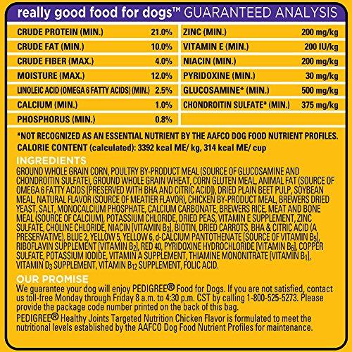 Pedigree Healthy Joints Dog Food Reviews