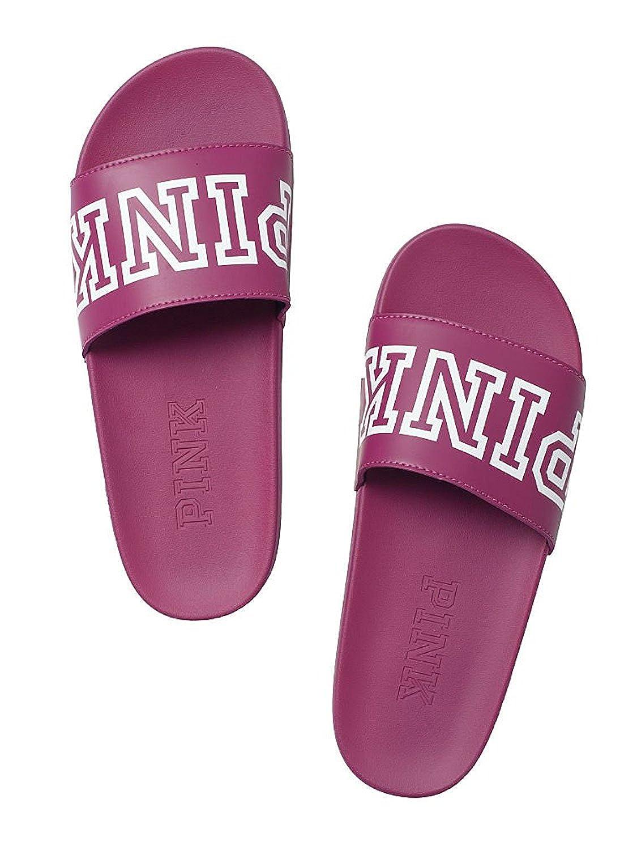 8ffa1e23724 Amazon.com  Victoria s Secret PINK Crossover Comfort Slide Sandals Shoes   Shoes