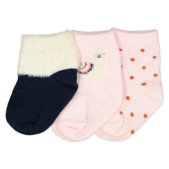 afadcf2ac6f2b Amazon.com: La Redoute Collections Big Girls Pack Of 3 Pairs Of ...