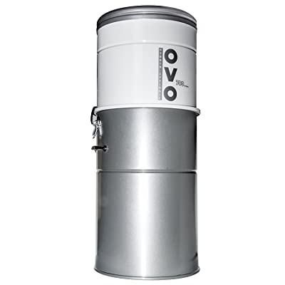 OVO Powerful Central Vacuum System - Heavy Duty Central Vac With Hybrid Filtration