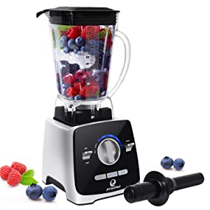 Professional Blender, POSAME 1400W High Speed Blende Blender for Shakes and Smoothies, Hot Soups, Nuts, Coffee Bean, Juice, Baby Food, Countertop Blender , 72 Ounces BPA-Free Tritan Jar, Variable Speed Control