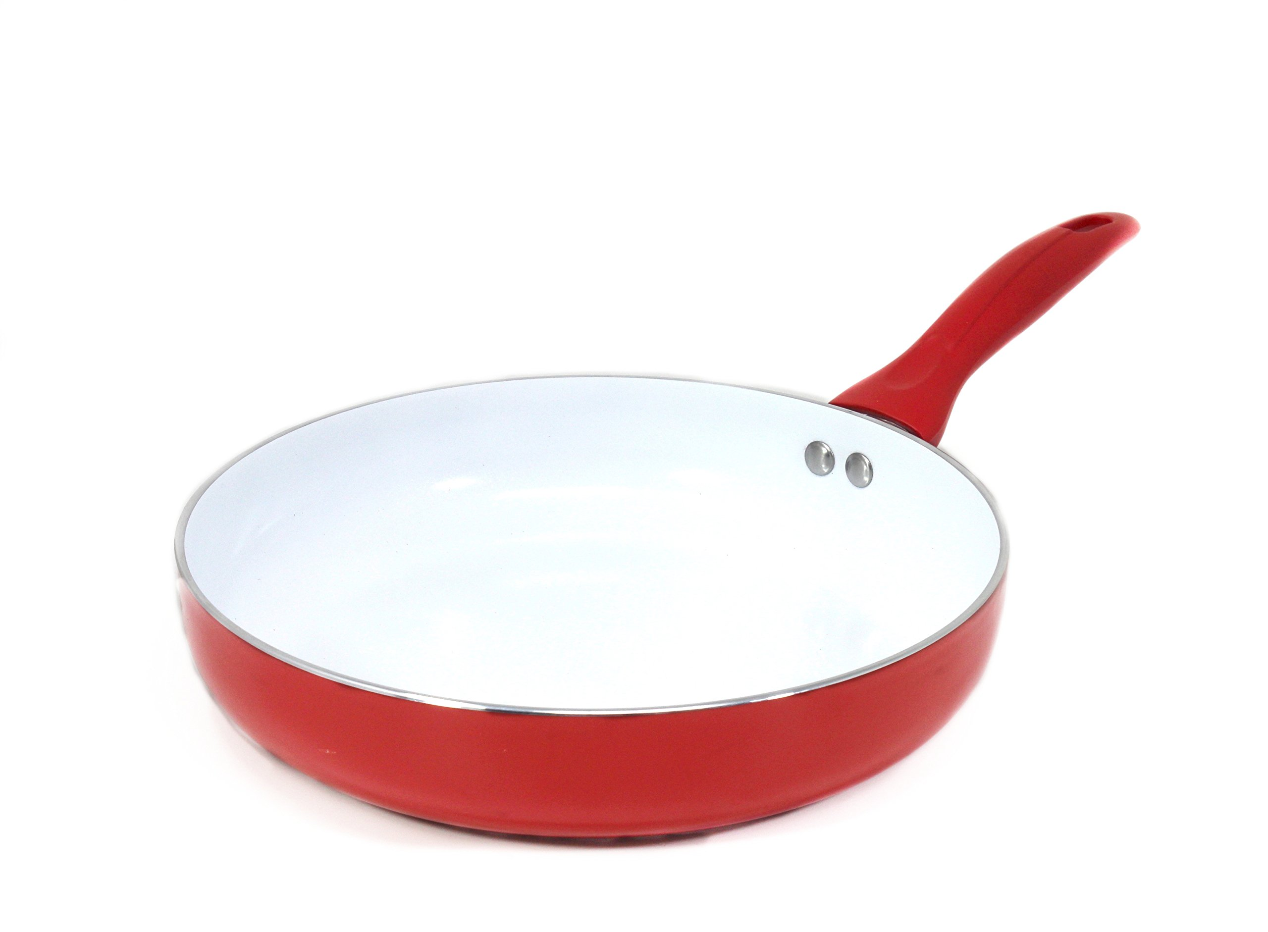 CONCORD 10.5'' Ceramic Coated Non Stick Frying Pan Omelet Skillet Cookware PFOA and PTFE Free