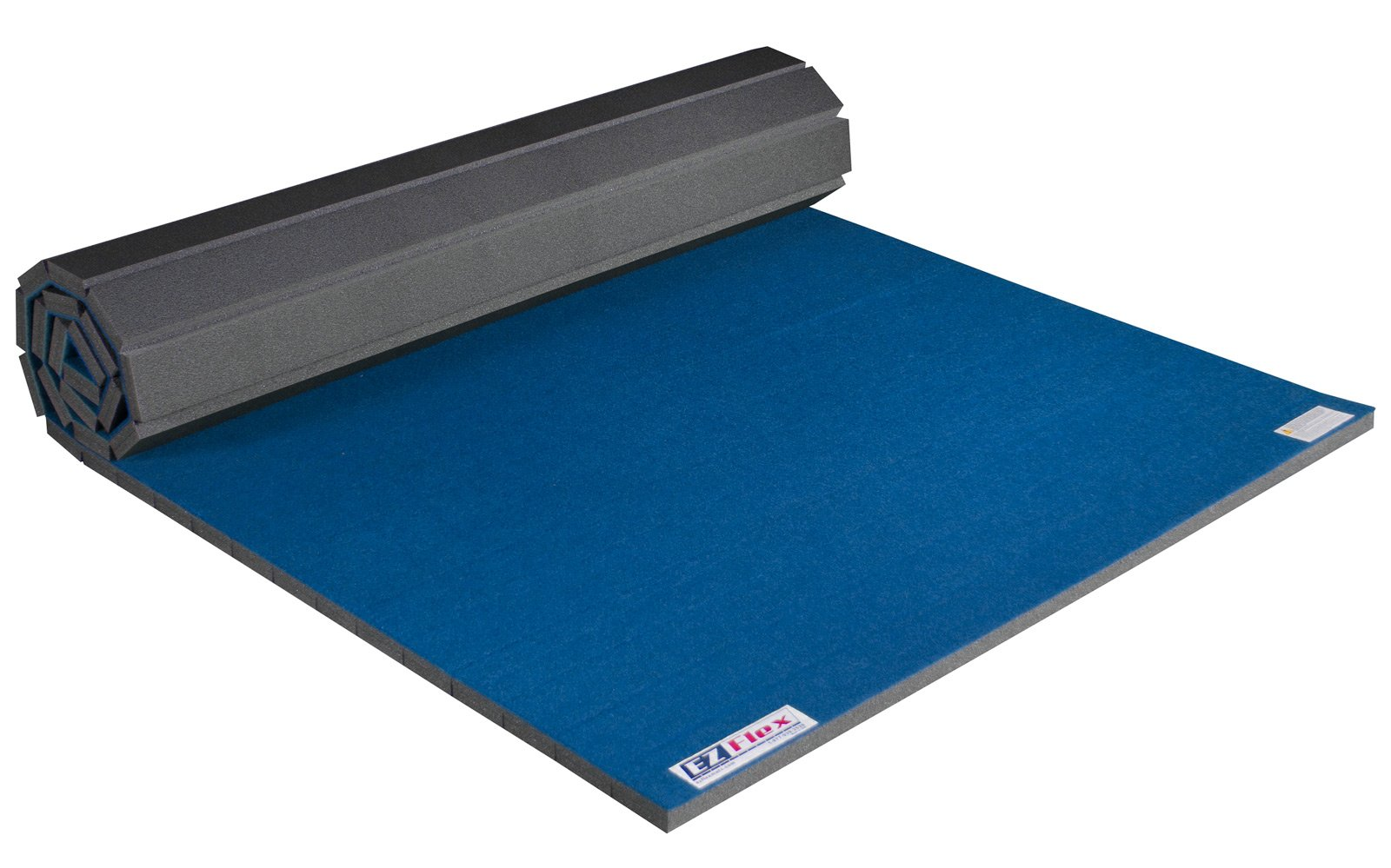EZ Flex 5' x 10' Home Cheerleading/Gymnastics Mat (Blue)