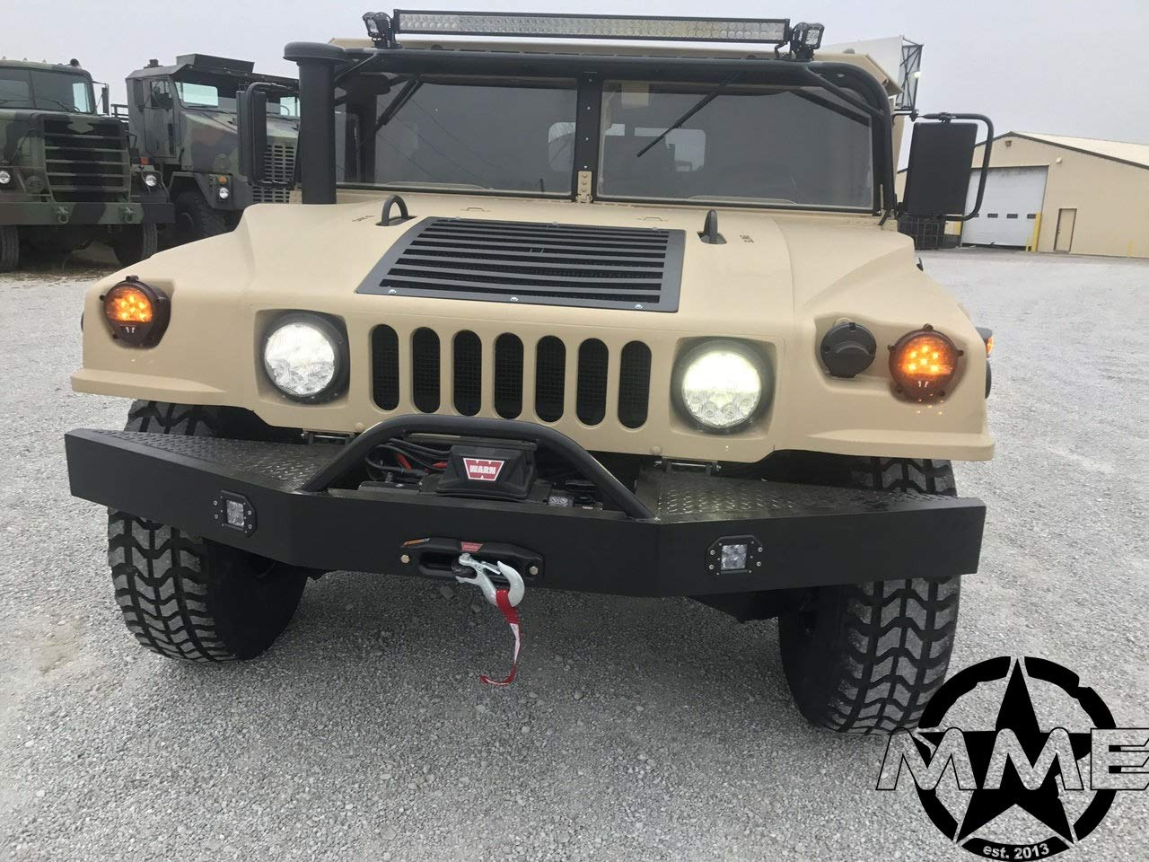 MILITARY HUMVEE HMMWV M11111111 M11111111A1111 FRONT WINCH BUMPER H1111 HUMMER | military h1 hummer