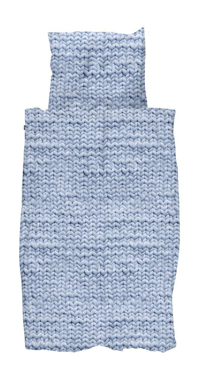 Snurk Bettwäsche Twirre Arctic Blau 135 x 200 cm 100% Baumwolle