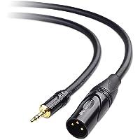Cable Matters (1/8 de pulgada) Cable de 3,5 mm a XLR (Cable de XLR a 3,5 mm) Macho a macho 3 pies