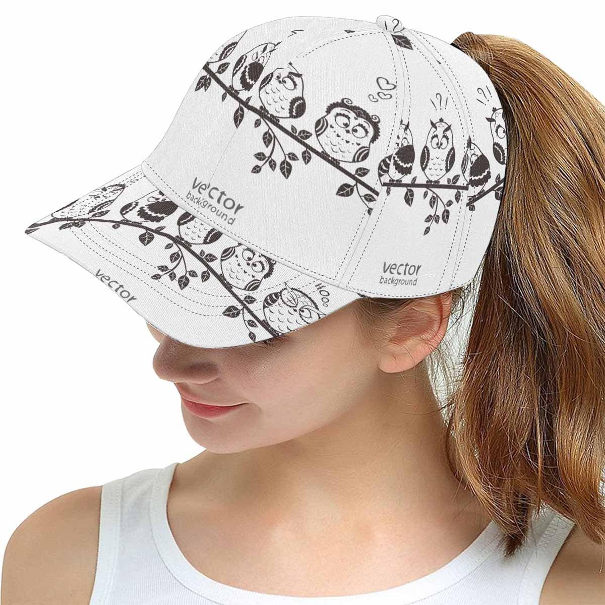 InterestPrint Custom Fantasy Women Men Adjustable Baseball Cap