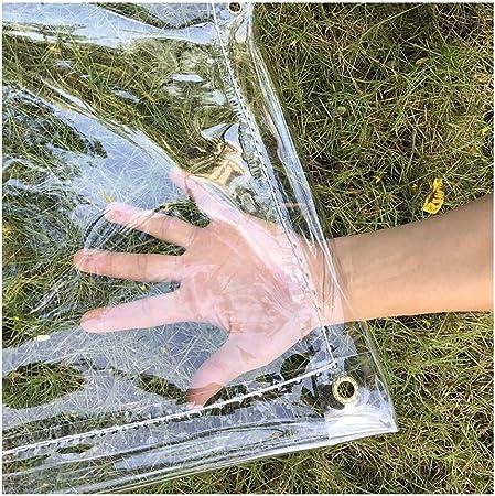 Shijinhao Impermeable Bache De Protection Poids 0 3 Mm Pvc De Plein Air Rideau De Pluie For Balcon Plante Verte Auvent De Serre Fait Maison 33 Tailles Color Clair Size 5x6m