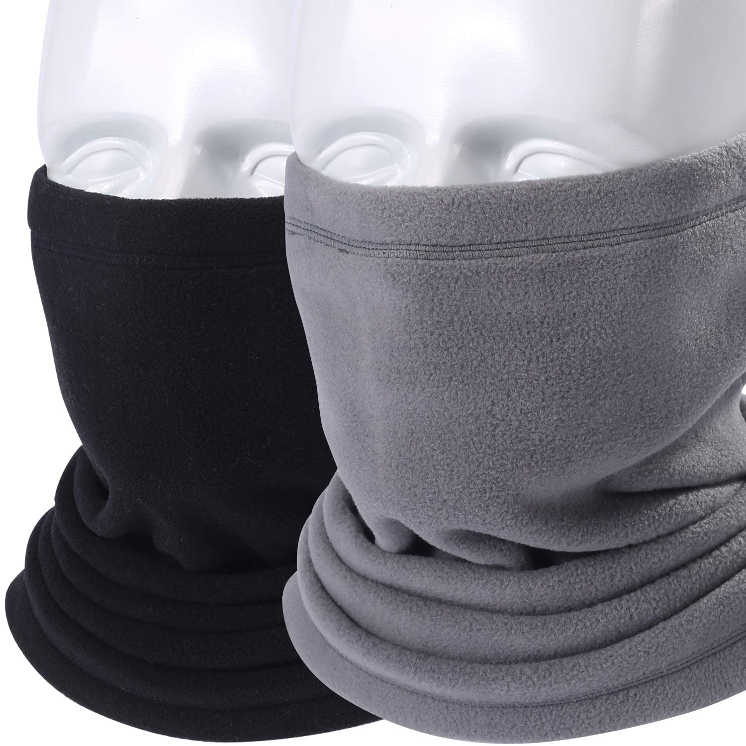 AXBXCX 2 Pack or 1 Pack Neck Warmer Gaiter for Cold Weather