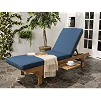 Safavieh Outdoor Living Newport Cart-Wheel Chaise Lounge Chair Deals